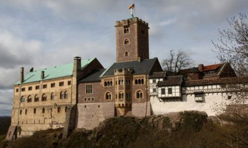 Zdjęcie NIEMCY / Turyngia / Eisenach / Zamek Wartburg