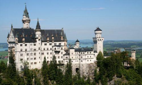 NIEMCY / Schwangau / Zamek Neuschwanstein / Bajkowy zamek 1