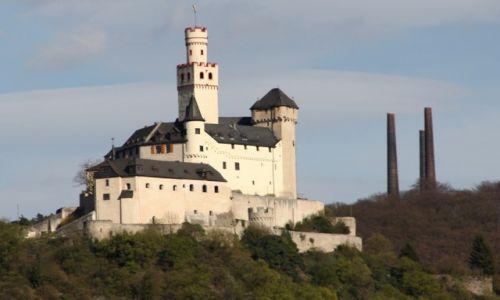 Zdjecie NIEMCY / Braubach / Zamek Marksburg / Bajkowy zamek 3