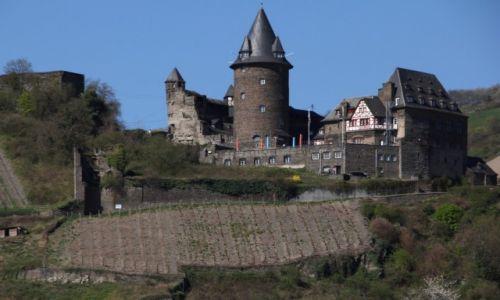 Zdjęcie NIEMCY / Nadrenia / Zamek Bacharach / Bajkowy zamek 5