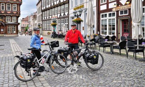 Zdjecie NIEMCY / Dolna Saksonia / Hildesheim / Na głównym placu w Hildesheim