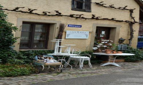 Zdjecie NIEMCY / Schwarzwald / Staufen / Sliczny maly sklepik na uliczce