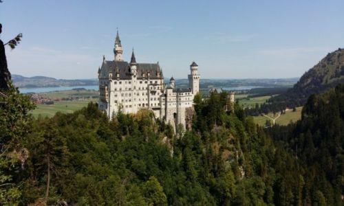 Zdjecie NIEMCY / Bawaria / okolice Fussen / Trochę klasyki -Neuschwanstein:)