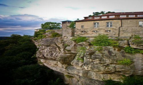 Zdjęcie NIEMCY / Szwajcaria Saksońska / Hohnstein / Hohnstein. Zamek na skale.