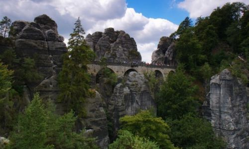 Zdjecie NIEMCY / Szwajcaria Sakso�ska / Bastei. / Bastei. Kamienn