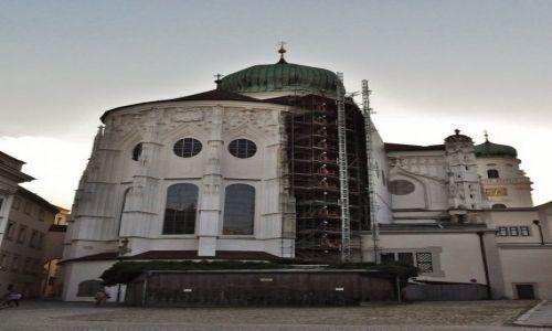 Zdjęcie NIEMCY / Bawaria / Passau / Passau, katedra, gotyk płomienisty
