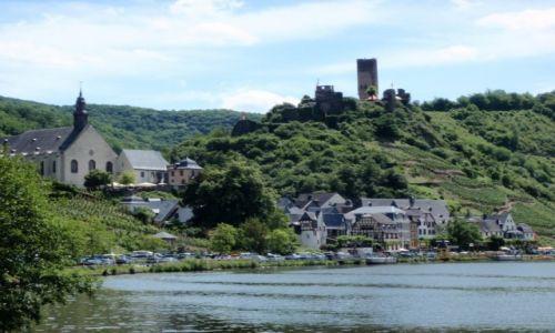NIEMCY / Nadrenia Palatynat / Dolina Mozeli / Mozela zamek Beilstein