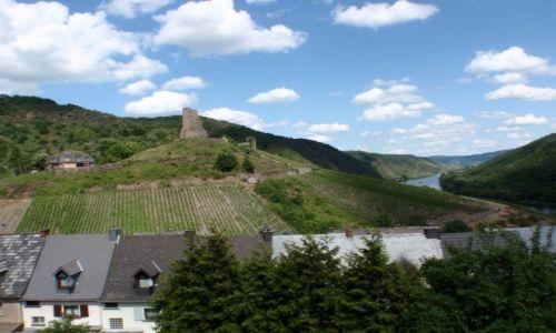 NIEMCY / Nadrenia Palatynat / Dolina Mozeli / Mozela zamek Coraidelstein
