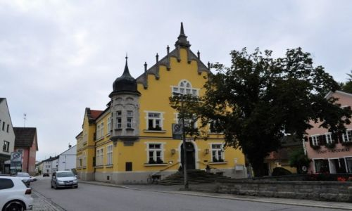 Zdjęcie NIEMCY / Bawaria / Bogenberg / Bogen, ratusz
