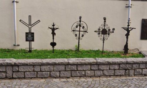 Zdjęcie NIEMCY / Bawaria / Bogen / Bogenberg, krzyże