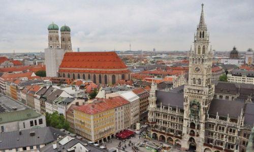 Zdjecie NIEMCY / Bawaria / Monachium  / Monachium, widok na centrum
