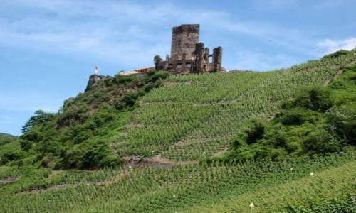 NIEMCY / Nadrenia Palatynat / Dolina Mozeli / Mozela zamek Beilstein2