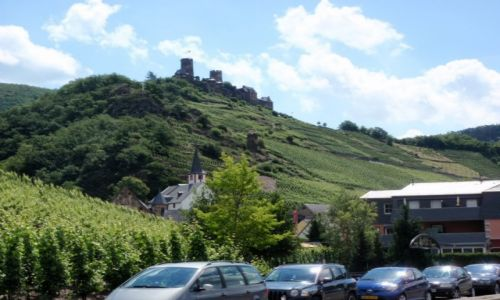 NIEMCY / Nadrenia Palatynat / Dolina Mozeli / Mozela zamek Turand2