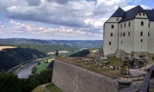 Zdjecie NIEMCY / Saksonia / Konigstein / Twierdza Konigstein