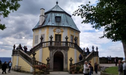 Zdjecie NIEMCY / Saksonia / Konigstein / Pałacyk uciech