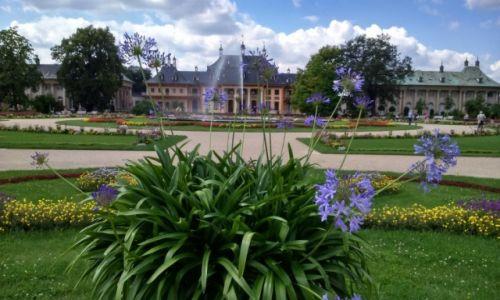 Zdjecie NIEMCY / Saksonia / PARK PILLNITZ / Pałac na wodzie