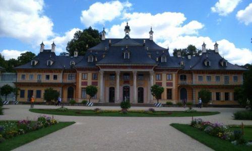Zdjecie NIEMCY / Saksonia / PARK PILLNITZ / Pałac w stylu japońskim