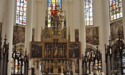 Zdjęcie NIEMCY / Bawaria / Straubing / Straubing, kościół św. Jakuba