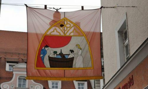 Zdjęcie NIEMCY / Bawaria / Straubing / Straubing, uliczki miasta