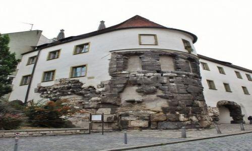 NIEMCY / Bawaria / Ratyzbona / Ratyzbona, pozosta�o�ci budowli rzymskich