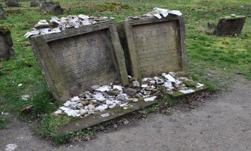 Zdjęcie NIEMCY / Pallatynat Nadrenia / Wormacja / Worms, cmentarz żydowski założony w 1077 r.