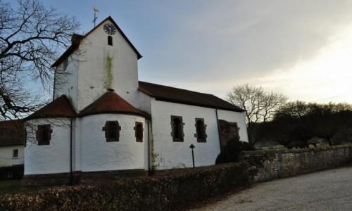 Zdjęcie NIEMCY / Saarland / Bockweiler / Bockweiler, kościół Romański