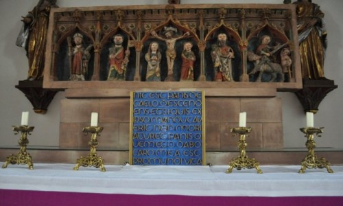 Zdjęcie NIEMCY / Saarland / Medelsheim / Medelsheim, kościół pielgrzymkowy