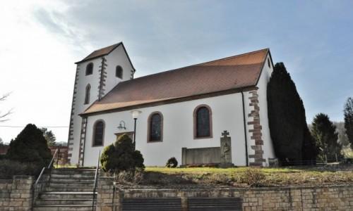Zdjęcie NIEMCY / Saarland / Wolfersheim / Wolfersheim, kościół romański