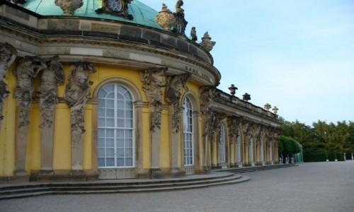 Zdjęcie NIEMCY / Brandenburgia / Poczdam / Pałac