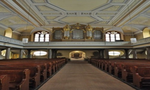 Zdjęcie NIEMCY / Badenia-Wirtembergia / Heidelberg / Heidelberg, kościół ewangelicki z XVII w.