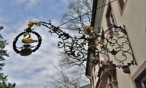 Zdjęcie NIEMCY / Badenia-Wirtembergia / Heidelberg / Heidelberg, piękny szyld