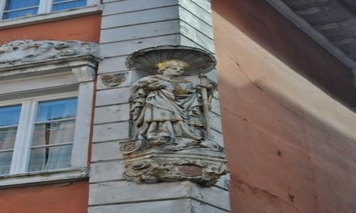 Zdjęcie NIEMCY / Badenia-Wirtembergia / Heidelberg / Heidelberg, węgło kamienicy