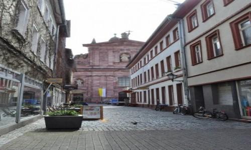 Zdjęcie NIEMCY /  Badenia-Wirtembergia / Heidelberg / Heidelberg, kościół Jezuitów