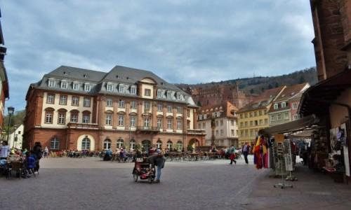 Zdjęcie NIEMCY / Badenia-Wirtembergia / Heidelberg / Heidelberg, rynek