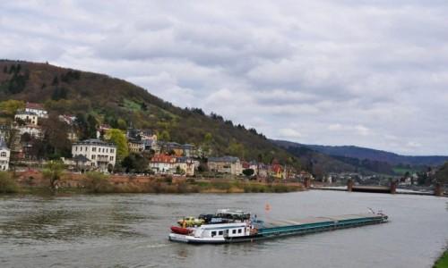 Zdjecie NIEMCY / Badenia-Wirtembergia / Heidelberg / Heidelberg,Neck