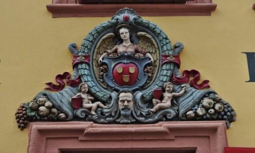 Zdjęcie NIEMCY / Badenia-Wirtembergia / Heidelberg / Heidelberg, fragment portalu