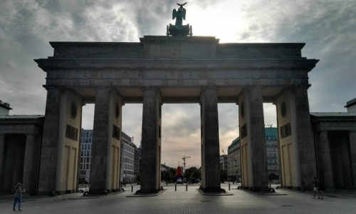 Zdjecie NIEMCY / Berlin / Brandenburger Tor / Brama Brandenbu