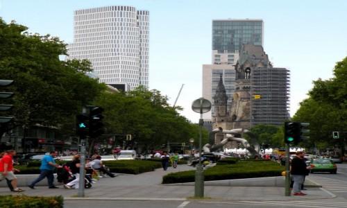 Zdjecie NIEMCY / Brandenburgia / Berlin Ku,dam / Ulica Kurf�rste