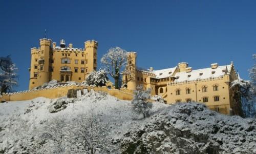 Zdjecie NIEMCY / Bawaria / Bawaria / Zamek Hohenschw