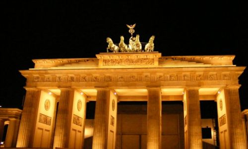 Zdjęcie NIEMCY / Branderburgia / Berlin / Brama Branderburska