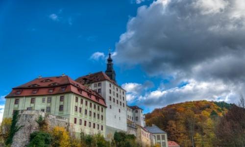 Zdjecie NIEMCY / - / Weesenstein / Zamek Schloss Weesenstein