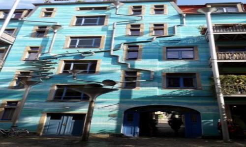 Zdjecie NIEMCY / Saksonia / Drezno / Grający dom
