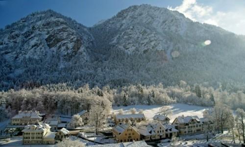 Zdjecie NIEMCY / Bawaria / Schwangau / Zima w Bawarii