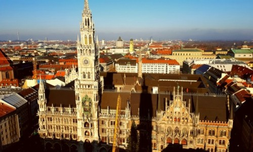 Zdjecie NIEMCY / Bawaria / Monachium / Monachium widzi