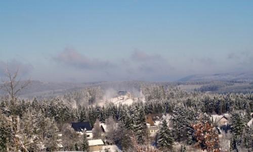 Zdjęcie NIEMCY / westfalia / Winterberg / - zimowy krajobraz -