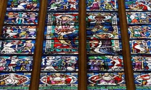 Zdjęcie NIEMCY / Bawaria / Monachium / Witraże Frauenkirche