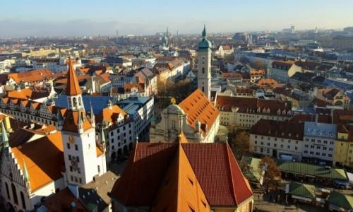 Zdjęcie NIEMCY / Bawaria / Monachium / Z wieży Peterskirche