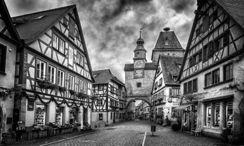 Zdjecie NIEMCY / Bawaria / Rothenburg ob der Tauber / Rothenburg ob der Tauber