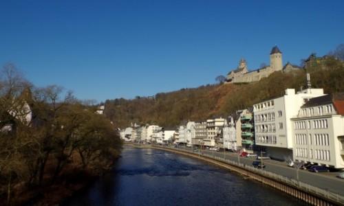 NIEMCY / Westfalia / Altena /  - miasteczko  Altena -