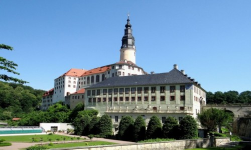 NIEMCY / Saksonia / Müglitztal / Pałac Weesenstein